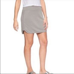 NWT Athleta Serenity Skirt in Gray Size Small